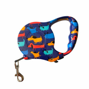 Pitter Patters Dog Retractable Leash Sideways No Background