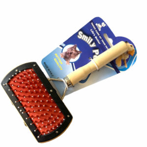 Smiley Pet Dual Sided Pet Brush Grooming View