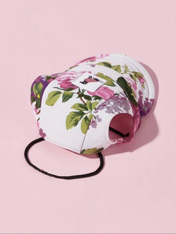 Simple Pal Sunny Baseball Cap Floral Back