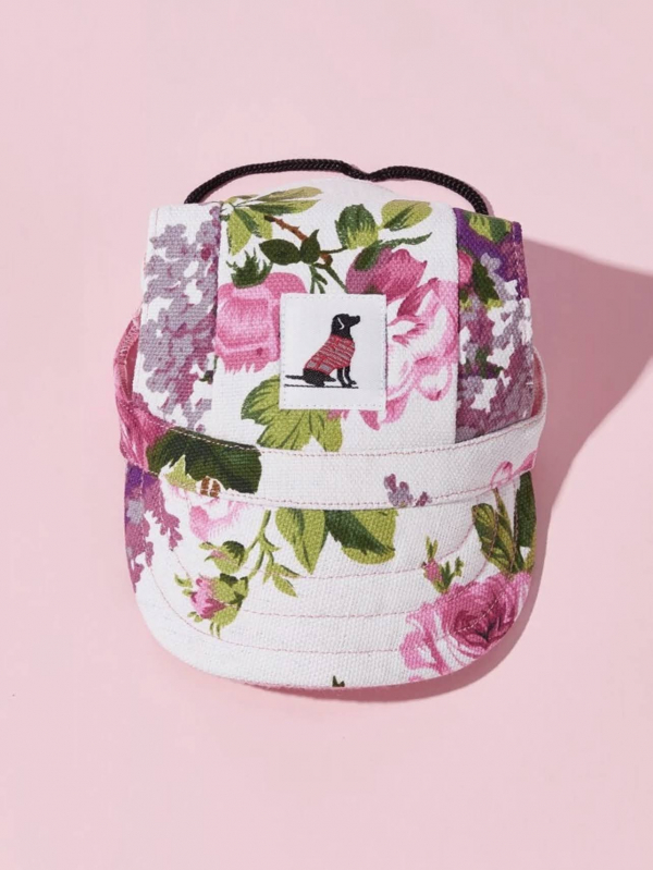 Simple Pal Sunny Baseball Cap Floral Front