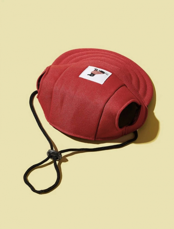 Simple Pal Sunny Baseball Cap Red Back