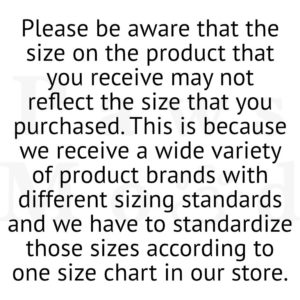 PawsMood Size Differentiation Notice